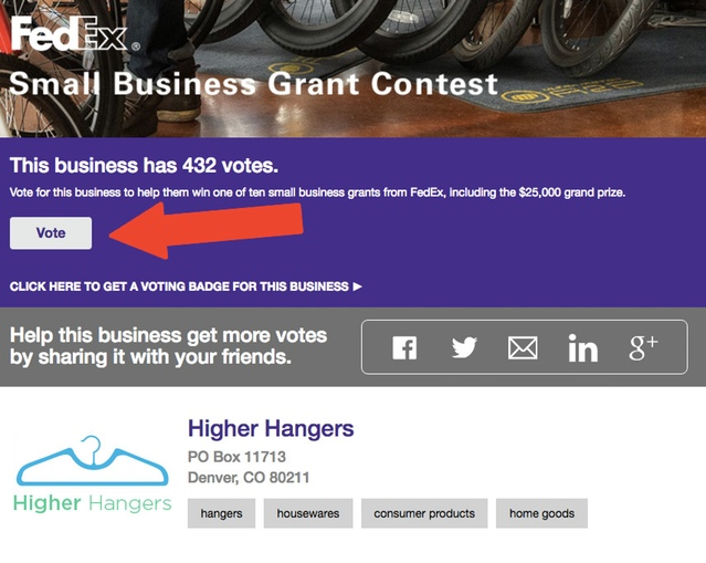FedEx Small Business Grant Photo
