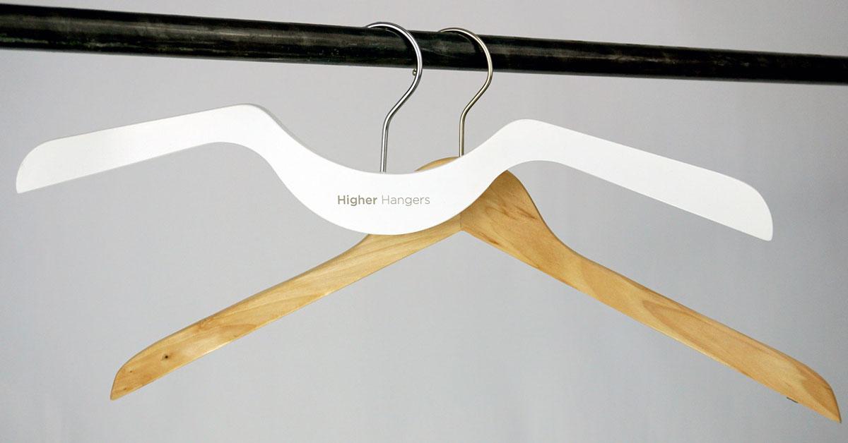 Higher Hangers - Space Saving Hangers